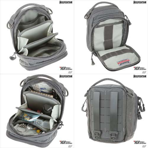 Maxpedition AGR Accordion Utility Pouch AUP (Grey) Alternate 2