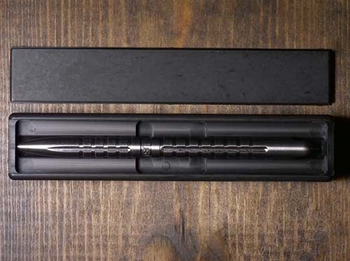 CountyComm Titanium EDC Pendulum Pen with Case Alternate 2