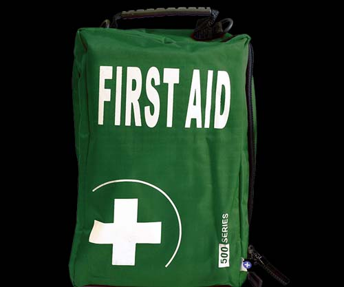 First-Aid ECLIPSE 500 First-Aid Bag (Green)