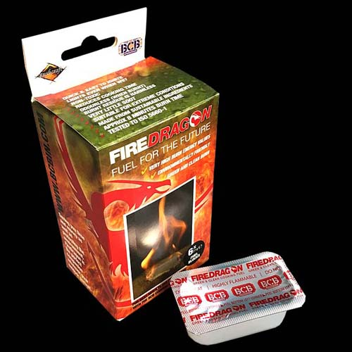 BCB Firedragon Solid Fuel (6 Pack)