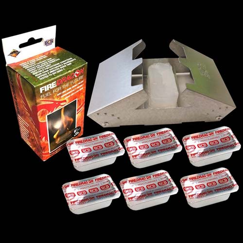BCB Firedragon Stove & Fuel Combo Pack