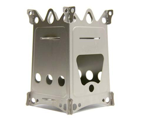 EmberLit FireAnt Camping Stove (Stainless)