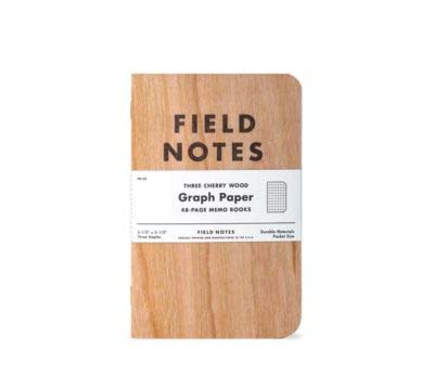 Field Notes Cherry Graph (Pack of 3)