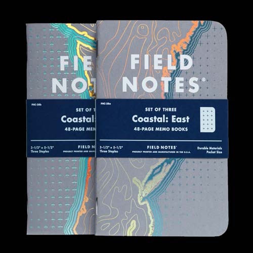 Field Notes Coastal East (Pack of 3) Alternate 2