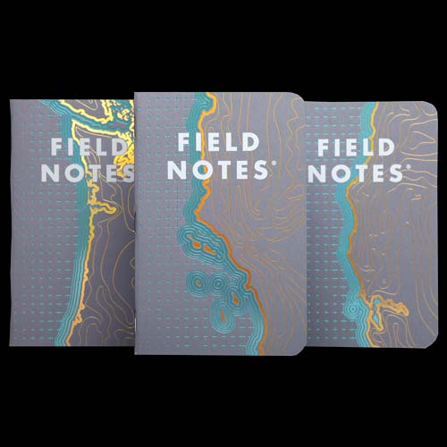 Field Notes Coastal West (Pack of 3)