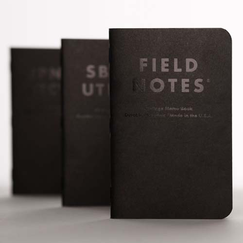 Field Notes Clandestine (Pack of 3) Alternate 1