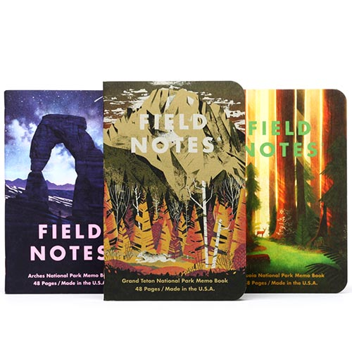 Field Notes National Parks Pack D