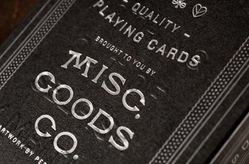 MGCO Playing Cards (Black) Alternate 4