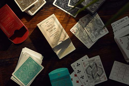 MGCO Playing Cards (Red) Alternate 4