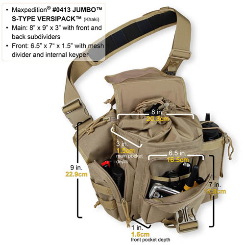 Maxpedition Jumbo Versipack Edc Maxpedition Jumbo Versipack