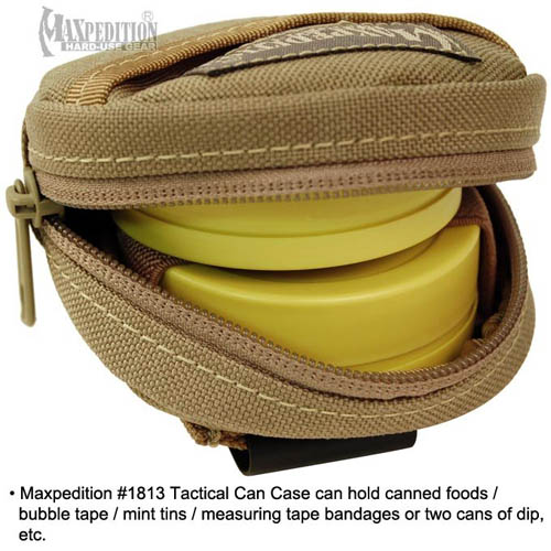 Maxpedition Tactical Can Case (Black)
