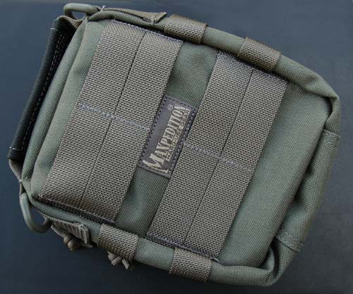 Maxpedition FR-1 Combat Medical Pouch (Black) Alternate 1