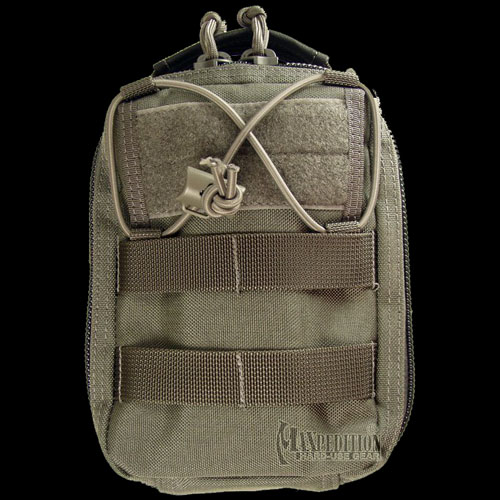 Maxpedition FR-1 Combat Medical Pouch (Black) Alternate 2