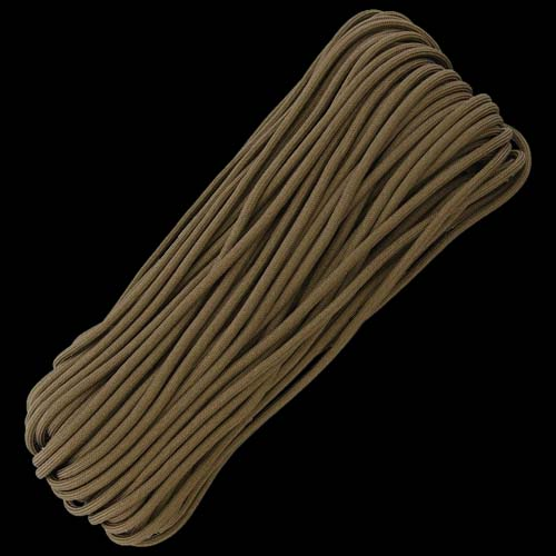 US-Paracord 550 Paracord - Coyote - 100ft (30m)