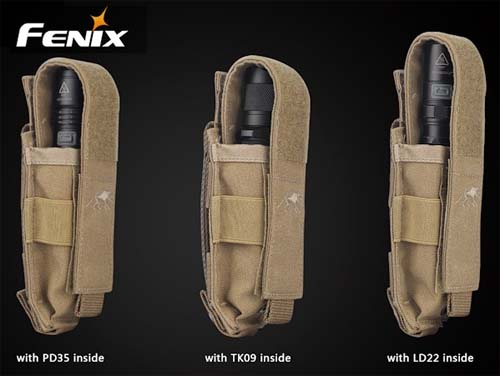 Fenix ALP-MT Holster (Olive) Alternate 1
