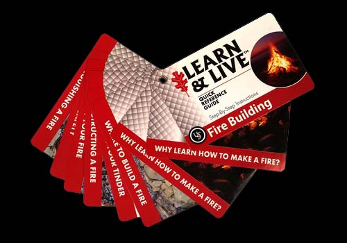 Ultimate Survival Learn and Live Cards - Fire