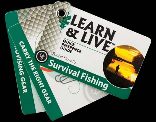 Ultimate Survival Learn and Live Cards - Survival Fishing